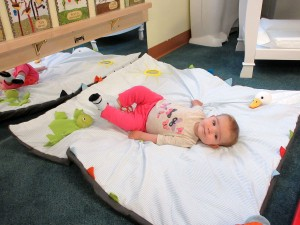 Infant relaxing