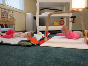 Infant movement toys